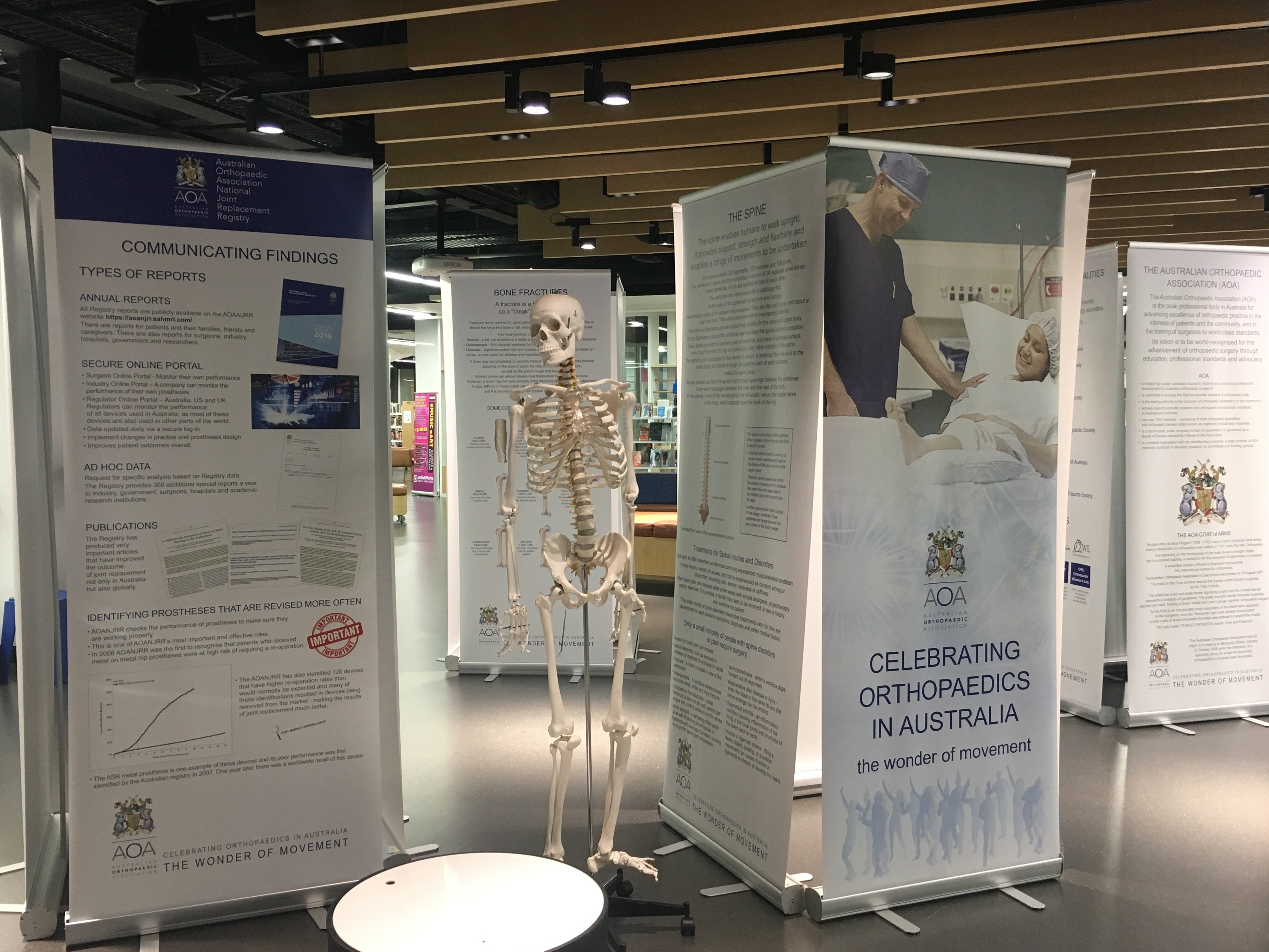 Travelling Exhibition - AOA | Australian Orthopaedic Association